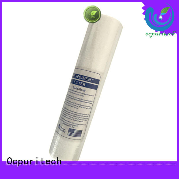 Ocpuritech industrial filter cartridges with good price for household