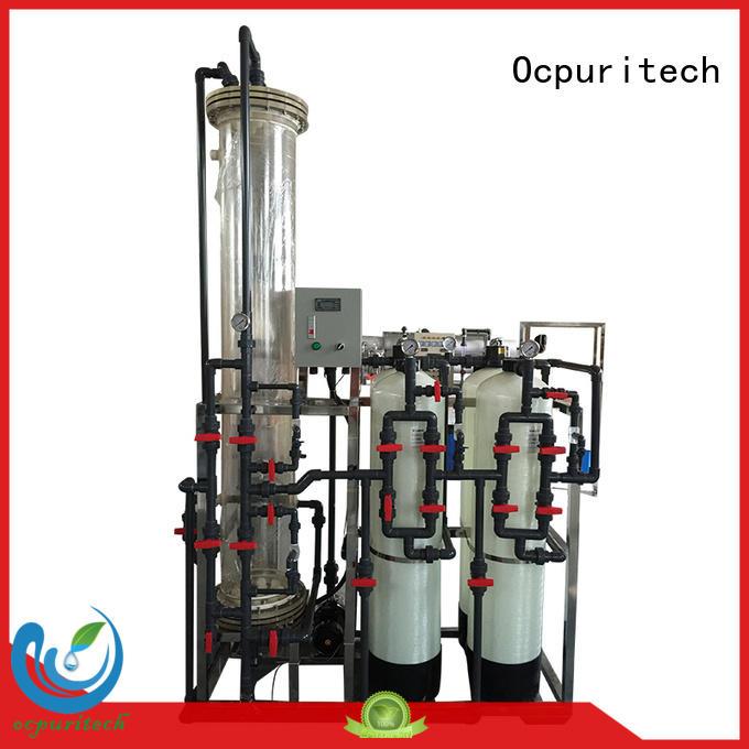 deionized water filter reverse dionization reverse osmosis Ocpuritech Brand company