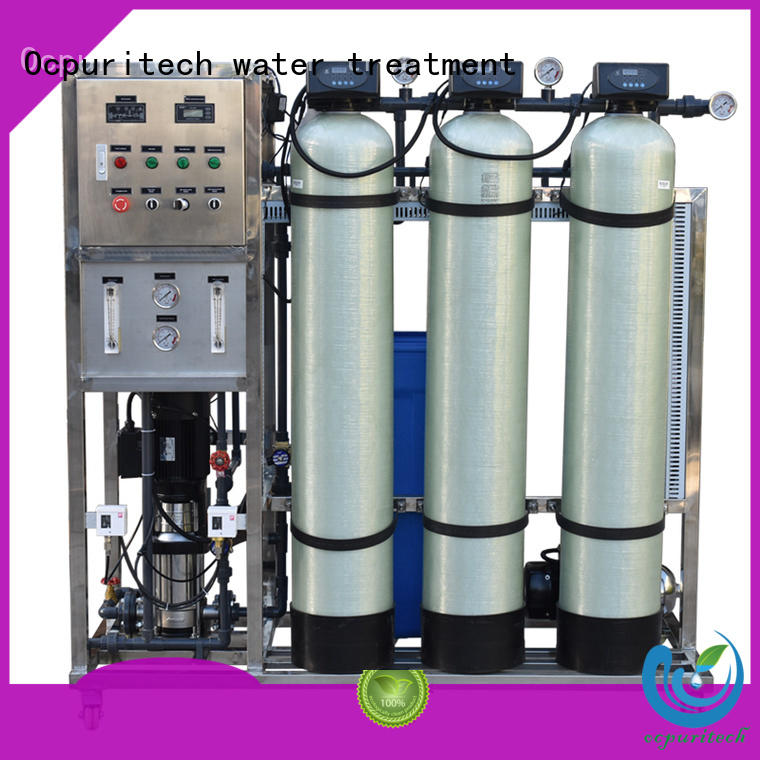Ocpuritech 250lph industrial ro plant personalized for agriculture