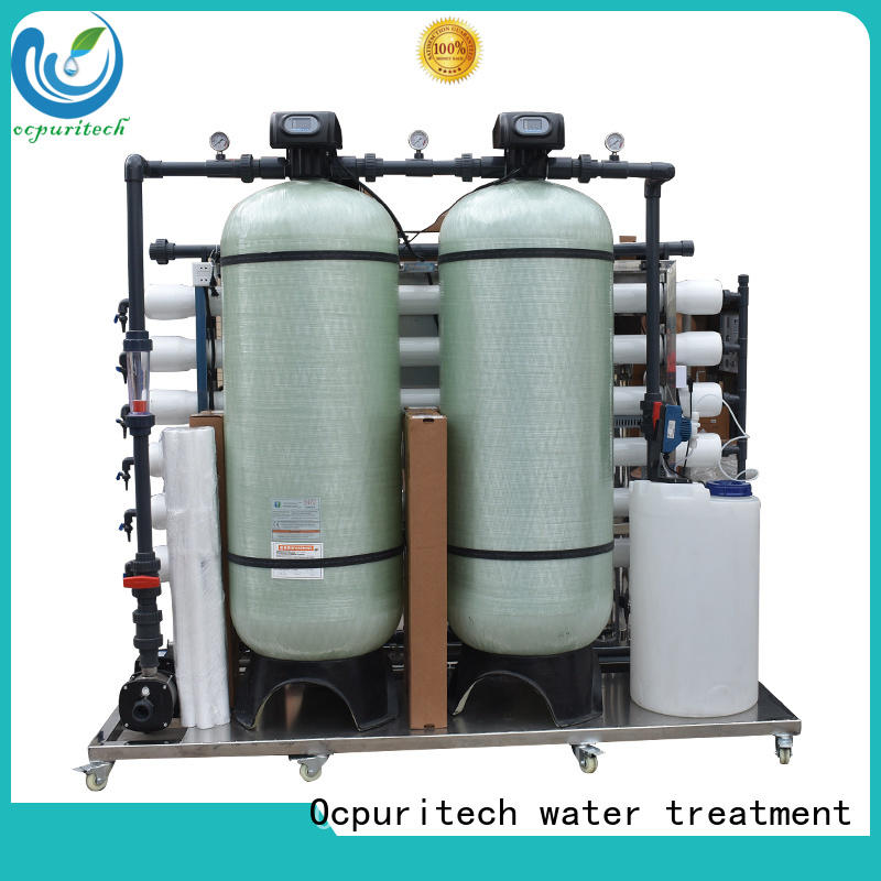 Ocpuritech industrial ro plant supplier for seawater