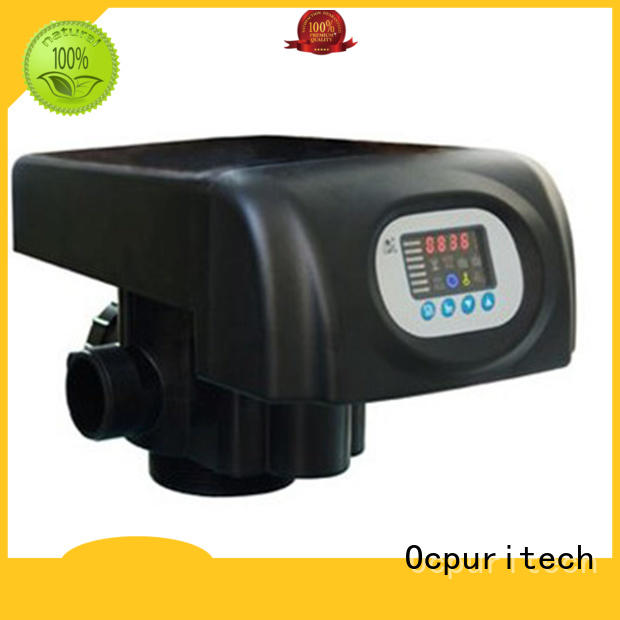 Quality Ocpuritech Brand LED colorful screen flow control valve
