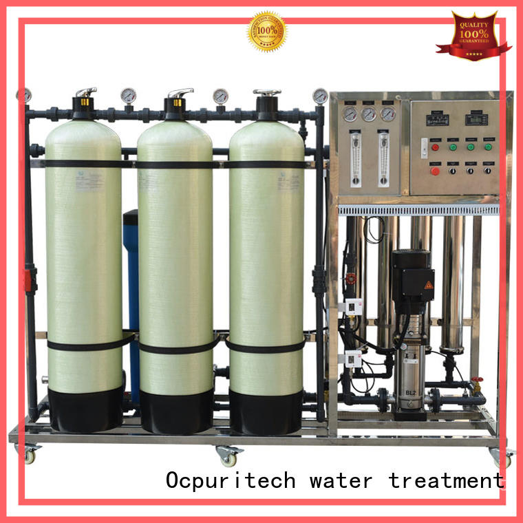 Ocpuritech commercial mineral water plant supplier for seawater