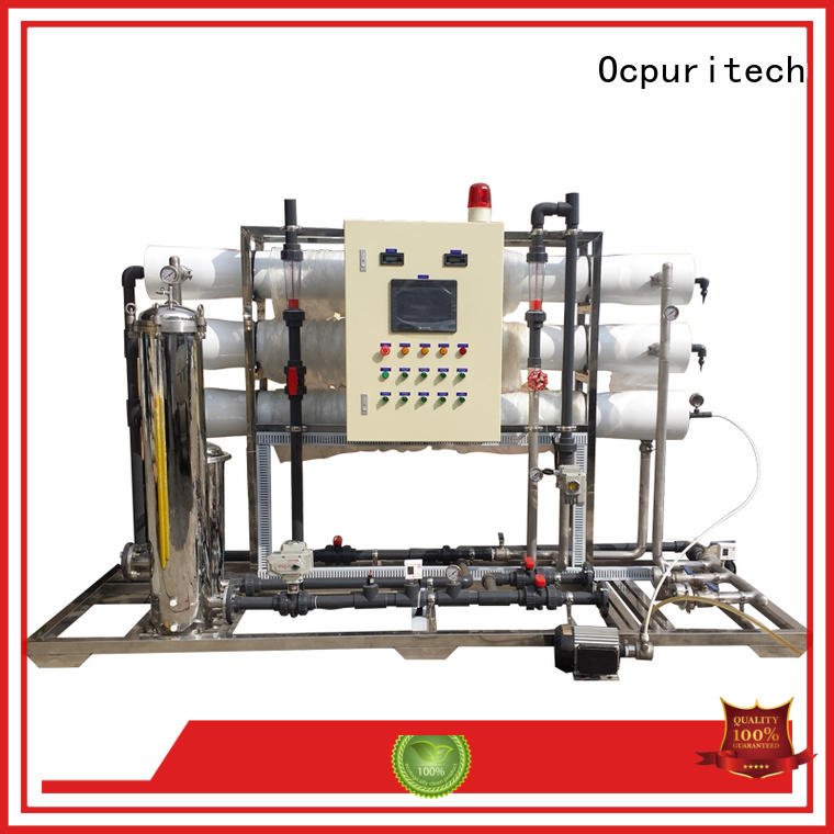 Ocpuritech durable whole house reverse osmosis water filter for seawater