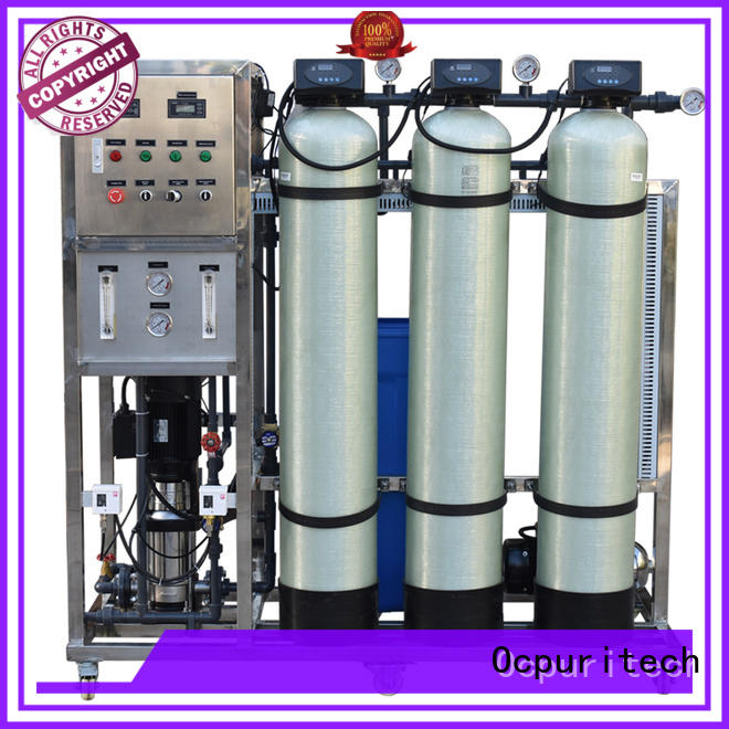 Hot ro machine 250 liter Ocpuritech Brand