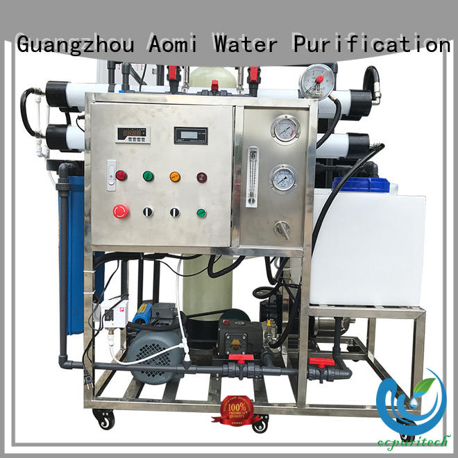 remove impurities separation good quality automatic Ocpuritech Brand seawater desalination supplier