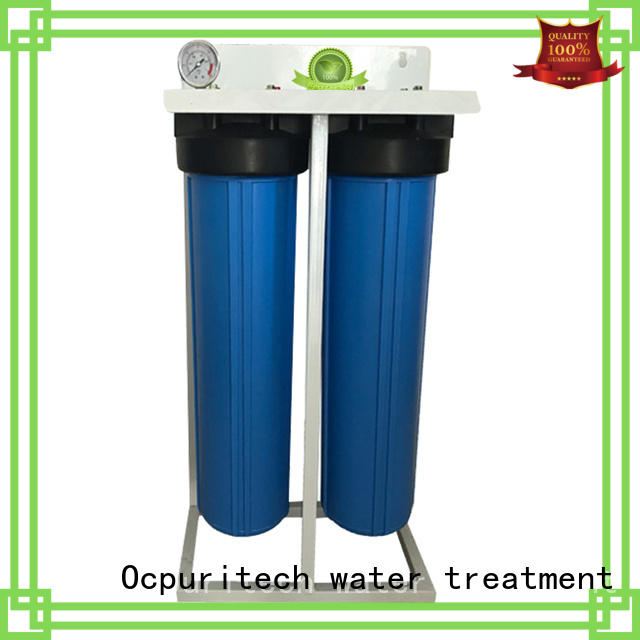 home filtration system thicker housing 2 stages pretreatment water filtration system manufacture