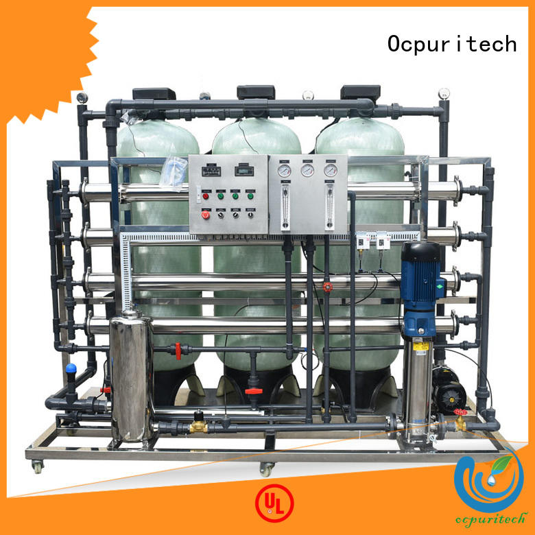 Ocpuritech industrial industrial ro plant suppliers supplier for agriculture