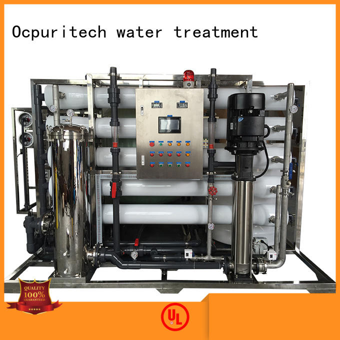 Ocpuritech stable ro water purifier companies wholesale for food industry
