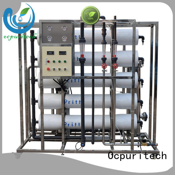 mineral water plant wholesale for seawater Ocpuritech