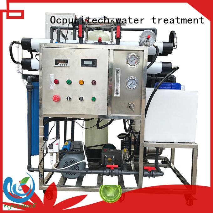 good quality water purification automatic Ocpuritech Brand seawater desalination