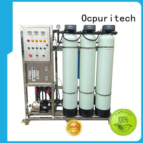 SUS304 Raw water pump &accessories UPVC Inlet/outlet pipes&valves removes suspended or particulate matters ultrafiltration system Ocpuritech Brand