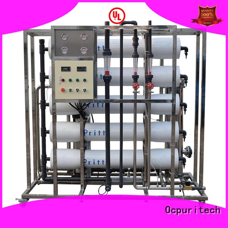 Ocpuritech 2000lph reverse osmosis water filter Houses