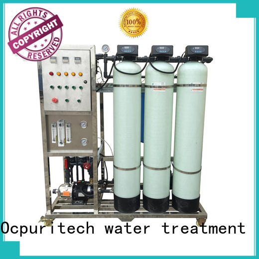 SUS304 Precision filter ultrafiltration system Schneider Relay,AC Central controlling system Ocpuritech company