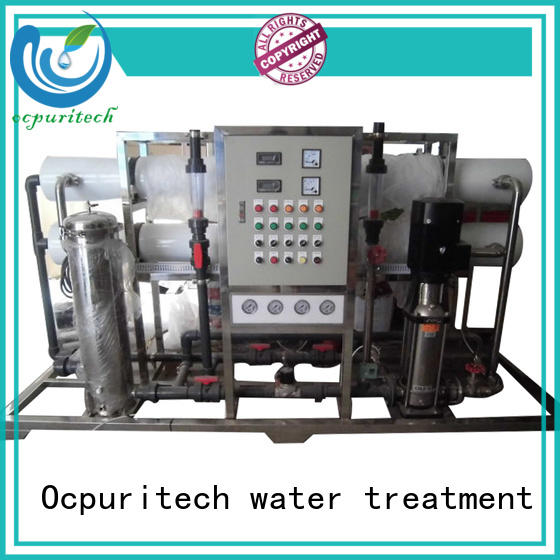 Ocpuritech industrial ro water plant factory price for food industry