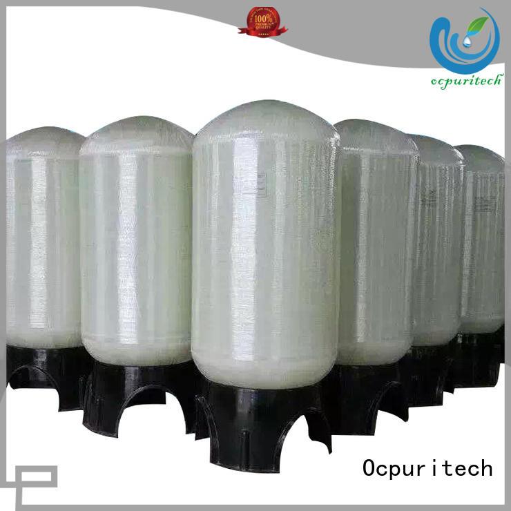 Ocpuritech commercial fiberglass tank customized for factory