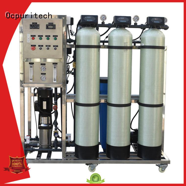 CE Certificate CNP pump ro machine Desalination 96%-99% Ocpuritech