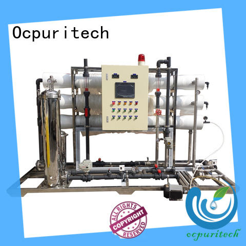 Ocpuritech durable ro water system factory price for food industry