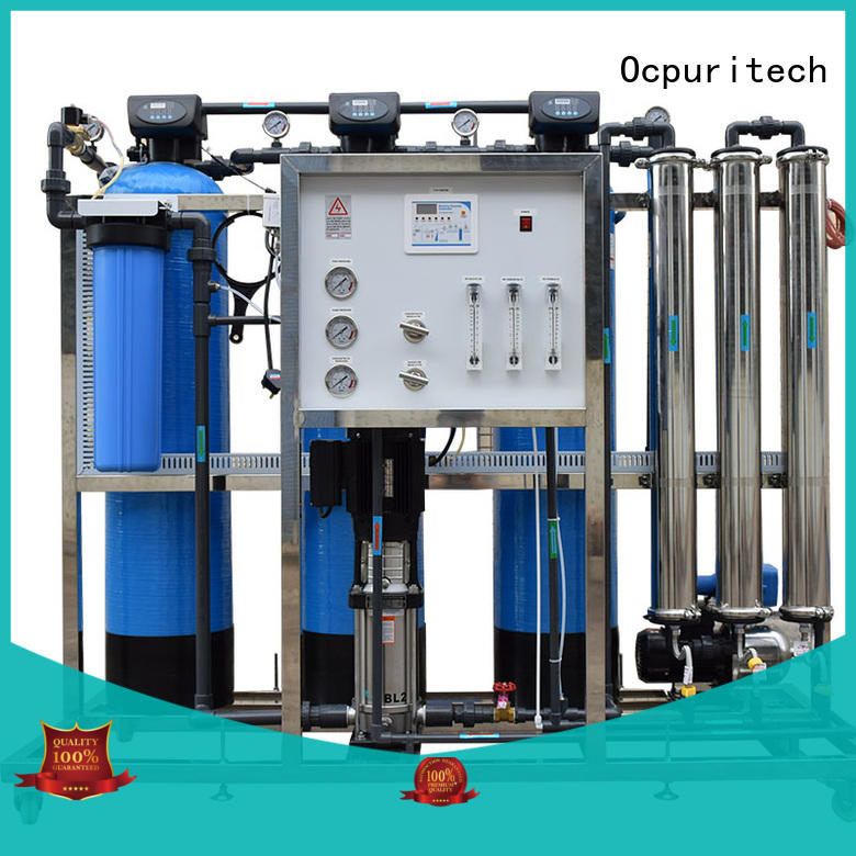 Ocpuritech durable industrial ro system factory price for seawater
