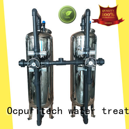Ocpuritech sand high pressure water filter design for medicine