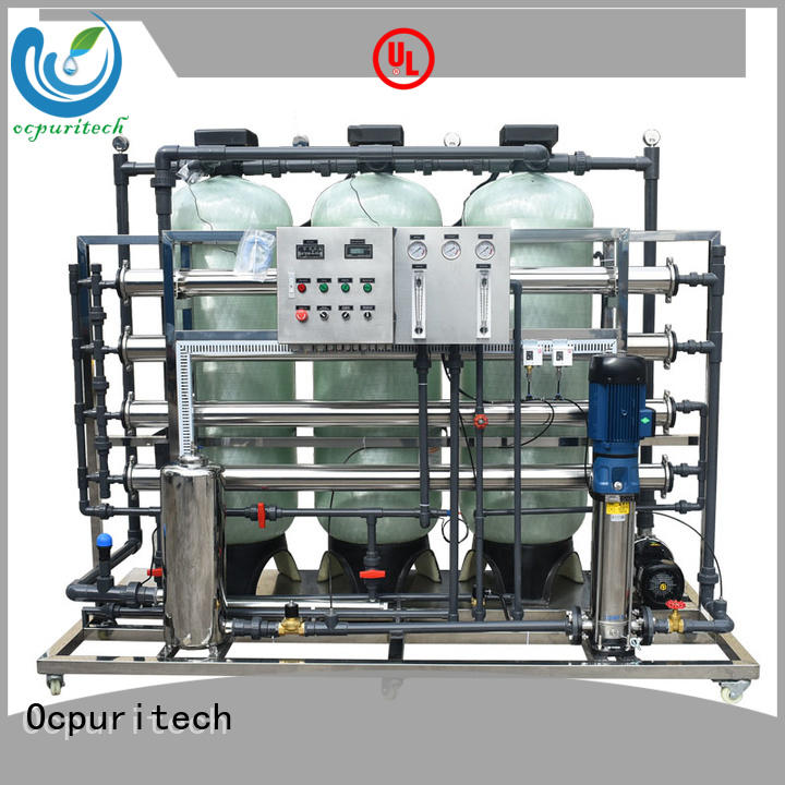 reverse osmosis drinking water system 250lph for agriculture Ocpuritech