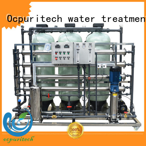 Ocpuritech ro plant industrial factory price for seawater