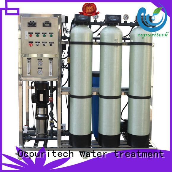 Ocpuritech Brand membrane 250 liter filter industrial ro machine