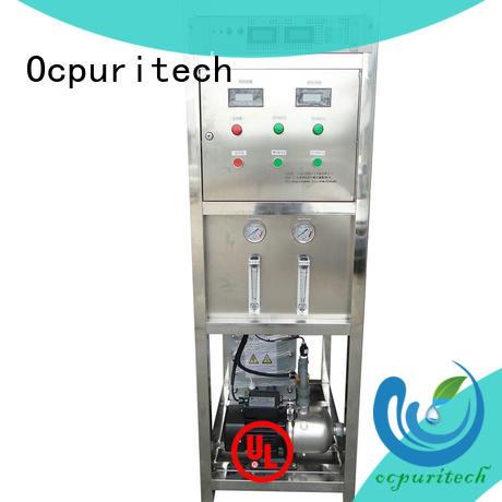 Ocpuritech deionized electrodeionization hotel