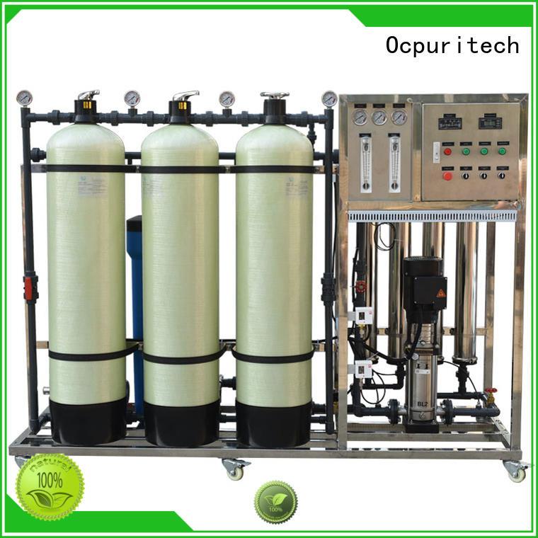 CE Certificate hotel CNP pump Ocpuritech Brand ro water filter factory