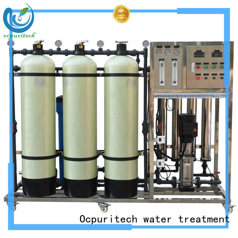 Ocpuritech 250lph reverse osmosis system supplier personalized for food industry