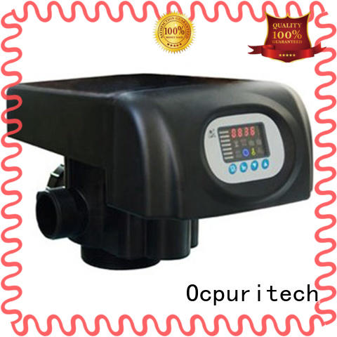 NSF,CE Certificate metal handle or plastic handle Automatic Control Type flow control valve LED colorful screen Ocpuritech