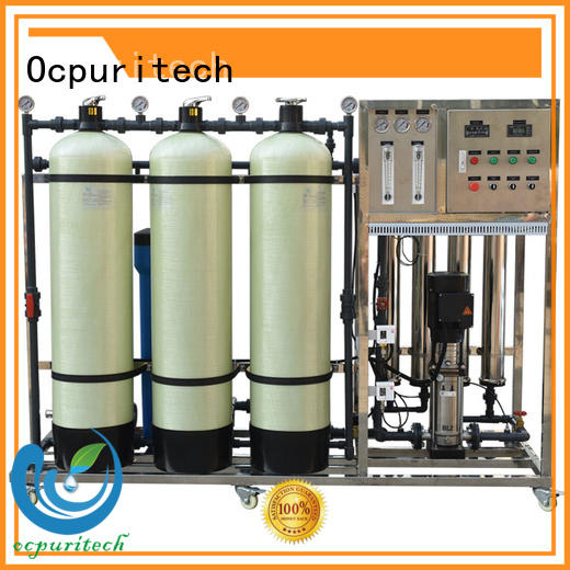 Ocpuritech 250lph water solution company supplier for food industry