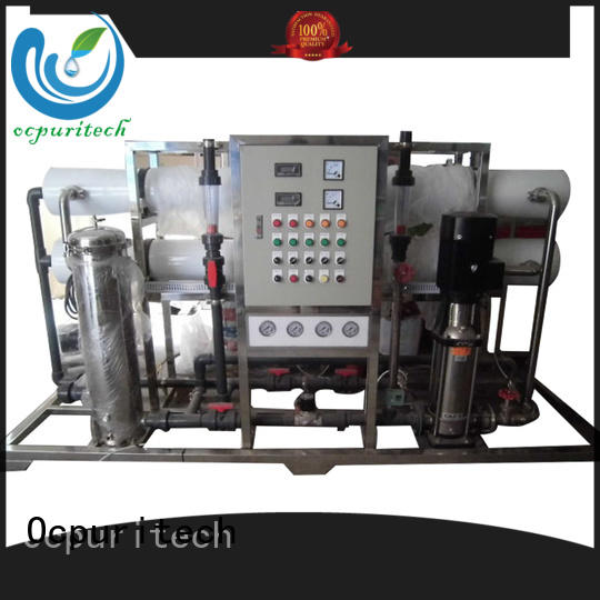 Ocpuritech reverse osmosis plant factory price for seawater