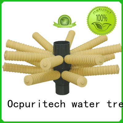water treatment parts High chemical resistance important element part, connect with frp tank for working water distributor Different colors are available Ocpuritech Brand