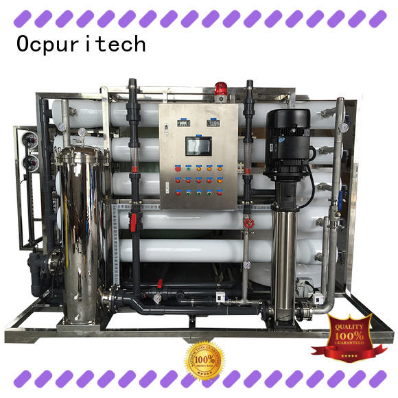 purification reverse osmosis filter Fivestar Hotel Ocpuritech