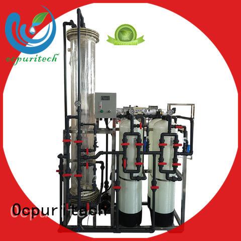 Manual control type durable Ocpuritech Brand deionized water filter factory