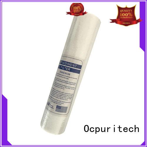 Ocpuritech string water cartridge manufacture