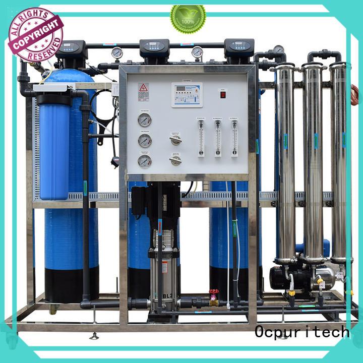 CE Certificate farm school Ocpuritech Brand ro water filter factory