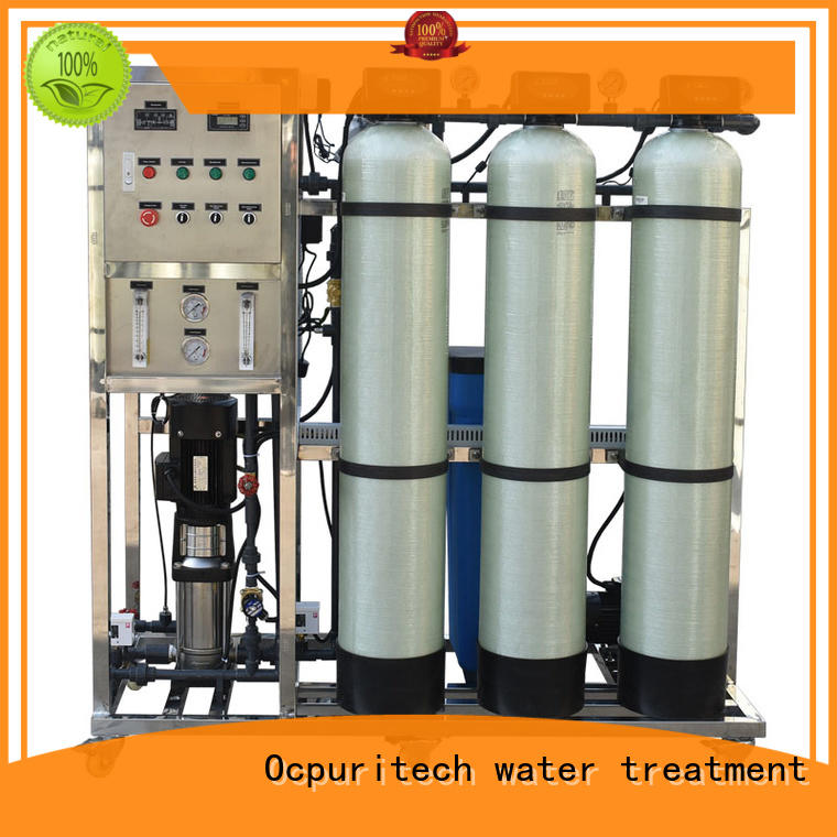 treatment mineral ro machine drinking purification Ocpuritech company