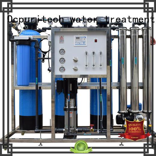 Ocpuritech Brand Desalination 96%-99% Dow RO Membrane CE Certificate food company ro machine