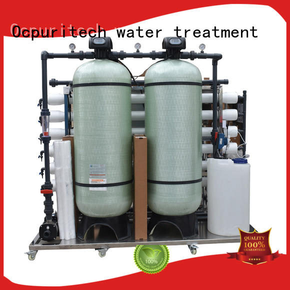 Ocpuritech purification mineral water plant personalized for seawater