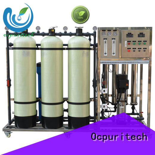Ocpuritech reverse osmosis water filter supplier for food industry