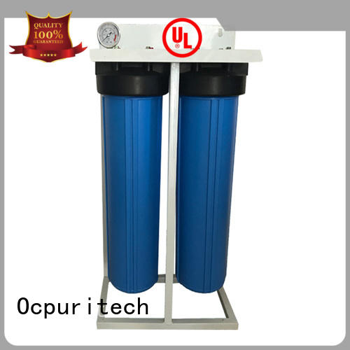 Ocpuritech pretreatment filter system for seawater