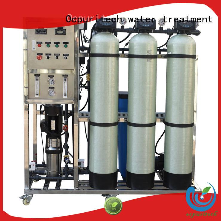 Ocpuritech Brand filter water 250 liter ro machine manufacture