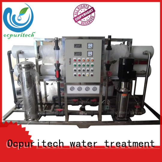 Ocpuritech osmosis system supplier for food industry