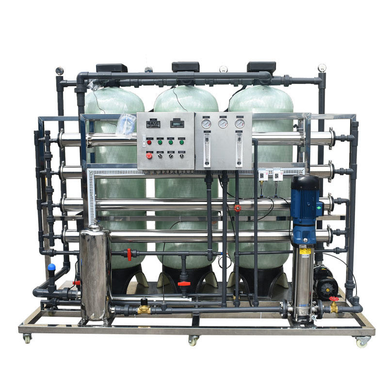 Ocpuritech-2000lph 12000 Gpd Industrial mobile water treatment plant