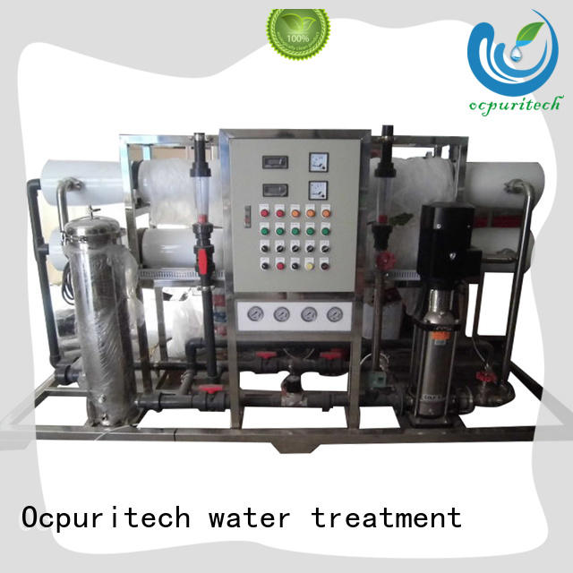Ocpuritech stable ro water plant supplier for seawater