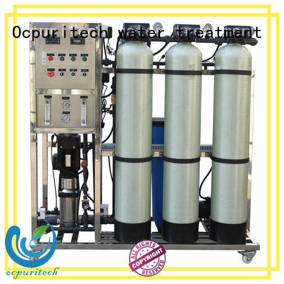 Ocpuritech 250lph reverse osmosis water system factory price for seawater