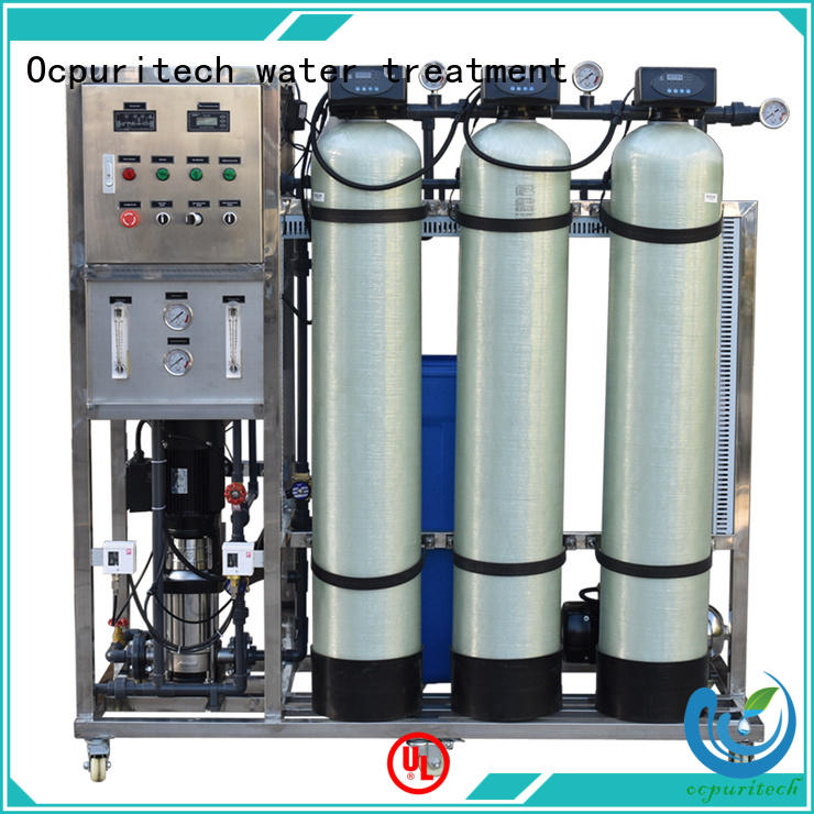 ro plant industrial factory price for seawater Ocpuritech