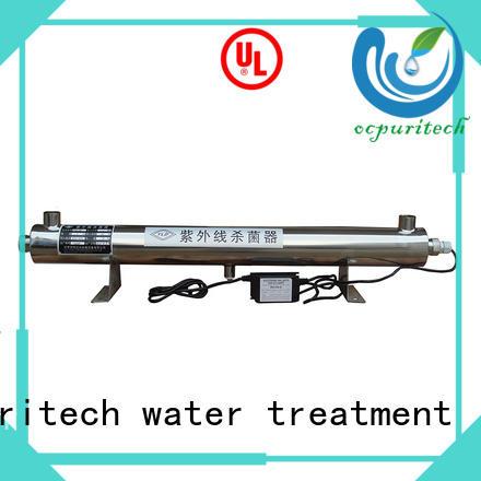 The 55W popular UV Light Sterilizer in RO Plant
