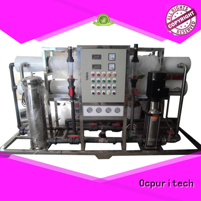 hospital food company ro water filter Ocpuritech Brand